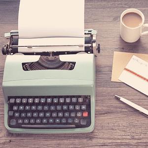 Machine à écrire des années 80 pour faire de la rédaction